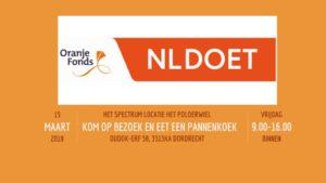 Kom op bezoek en eet een pannenkoek met NL Doet 2019 @ Het Polderwiel