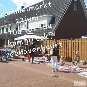 Rommelmarkt aan de Zeehavenlaan in Dordrecht